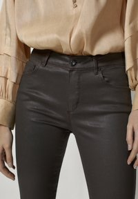 Massimo Dutti - Jeans Skinny Fit - brown - 3