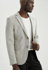 DeFacto - Blazer jacket - grey - 4