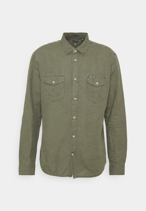 FLAP - Shirt - dusty olive