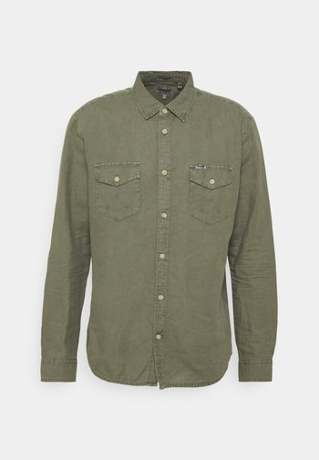 FLAP - Camicia - dusty olive