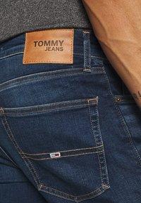 Tommy Jeans - AUSTIN SLIM - Jean slim - aspen dark blue stretch - 5