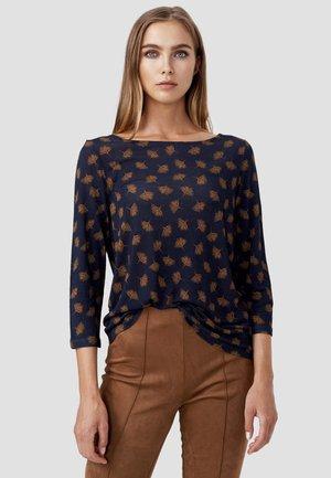 AOP - Long sleeved top - blau