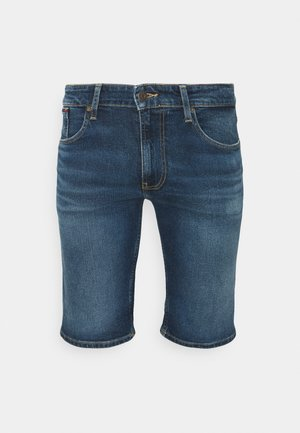 RONNIE RELAXED DENIM SHORT - Džínové kraťasy - blue denim