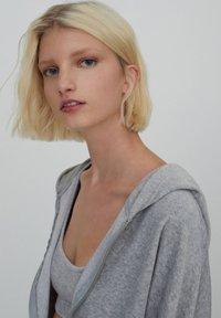 PULL&BEAR - Zip-up sweatshirt - grey - 3