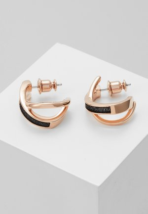 MERETE - Earrings - black