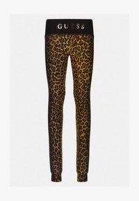 Guess - JUNIOR ACTIVE - Leggings - Trousers - leopard combo - 0