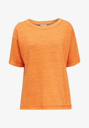 Basic T-shirt - rust orange