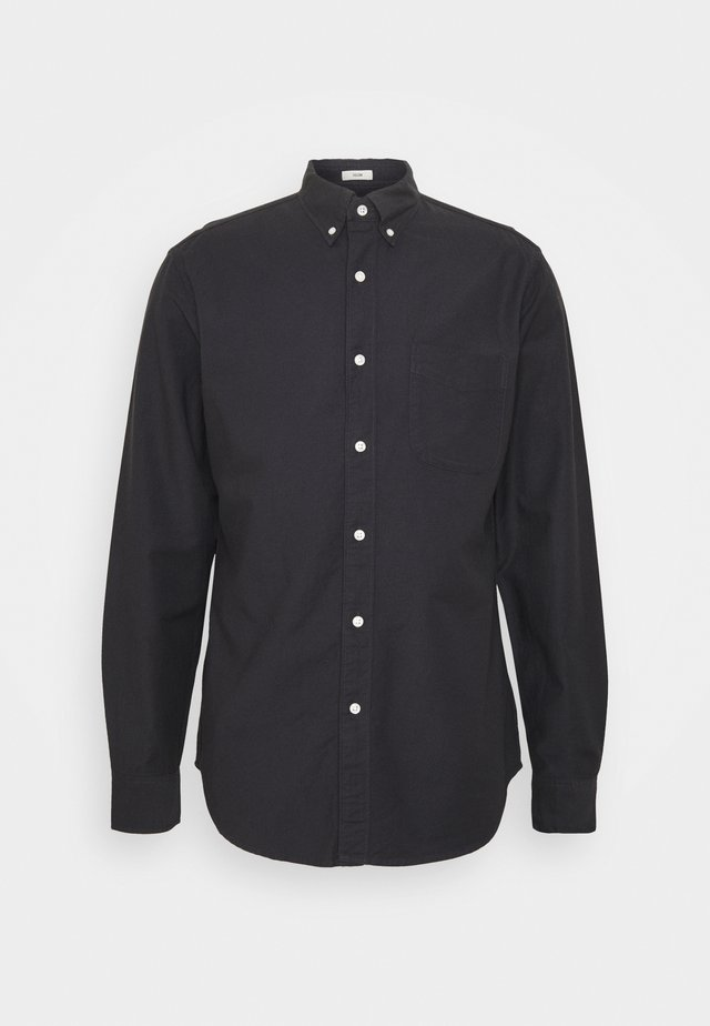 STRETCH OXFORD - Shirt - black