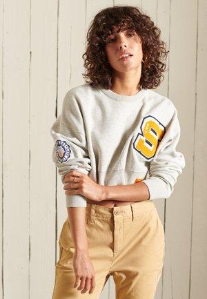 VARSITY  - Stickad tröja - athletic grey marl