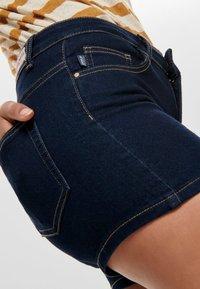 ONLY - CARMEN REG - Denim shorts - dark blue denim - 3