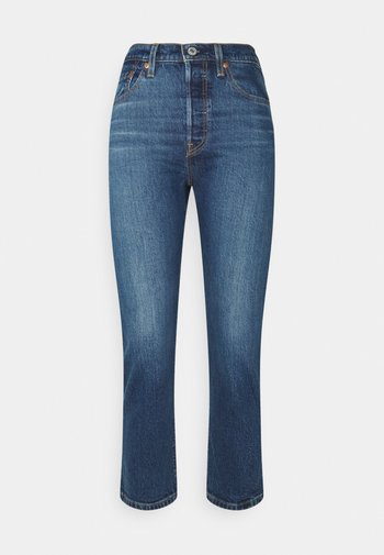 501 CROP - Jeans Tapered Fit - charleston outlasted