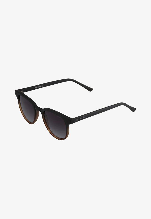 FRANCIS - Lunettes de soleil - matte black