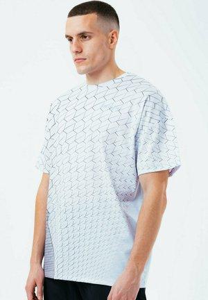 HEX - T-shirt print - grey marl
