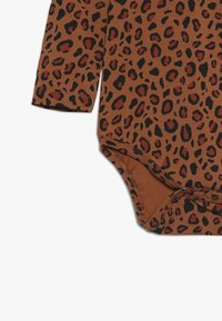 TINYCOTTONS - ANIMAL PRINT  - Long sleeved top - brown/dark brown - 3