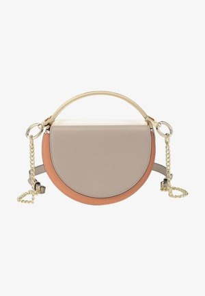 Across body bag - coral taupe