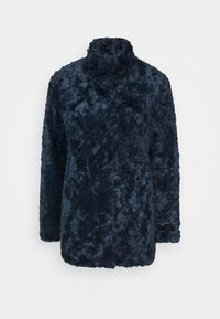MINIMAL - Short coat - royal blue