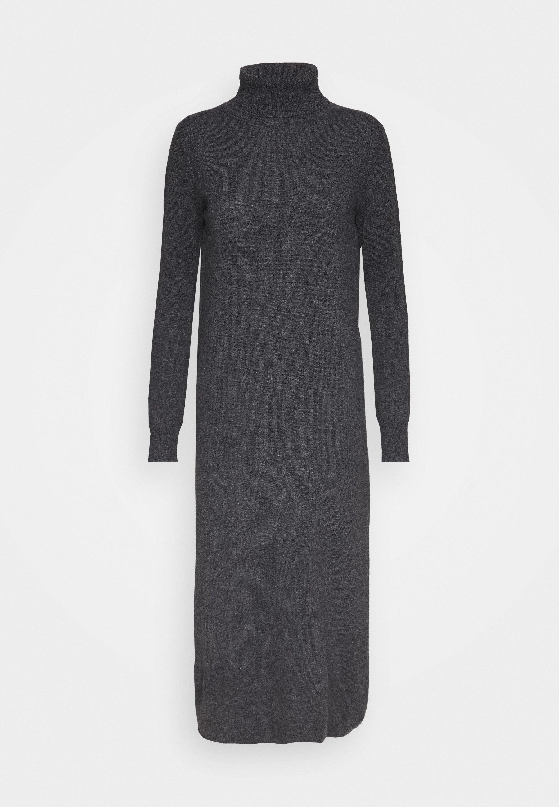 Women TURTLENECK DRESS - Maxi dress