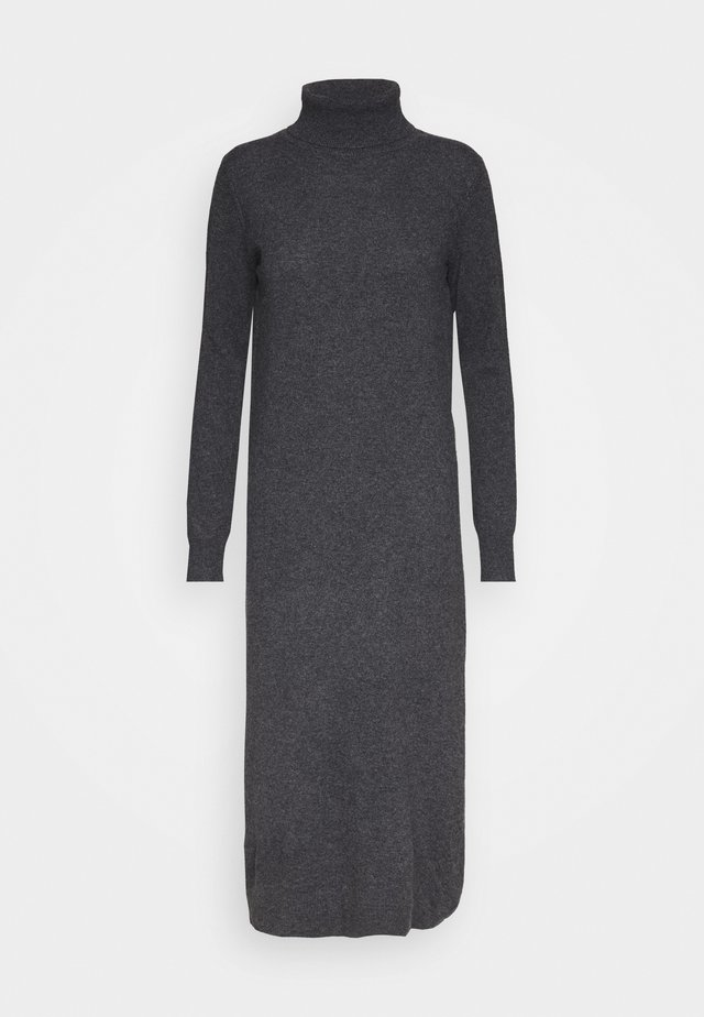 TURTLENECK  DRESS - Maxikjole - graphite