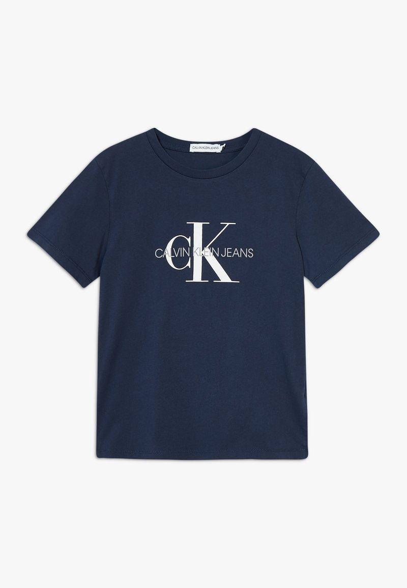 Calvin Klein Jeans - MONOGRAM LOGO UNISEX - T-shirt print - blue