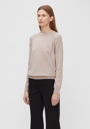 KARLA - Sweter - sand/beige