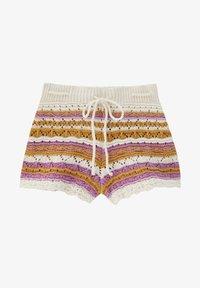 PULL&BEAR - Shorts - mottled beige - 6