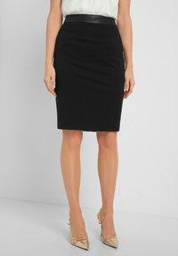 ORSAY - Pencil skirt - schwarz - 0
