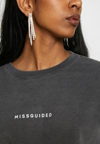 Missguided - WASHED - Sweatshirt - black - 4