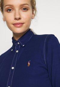 Polo Ralph Lauren - HEIDI LONG SLEEVE - Button-down blouse - holiday navy - 5