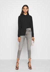 JDY - JDYLION - Button-down blouse - black - 1