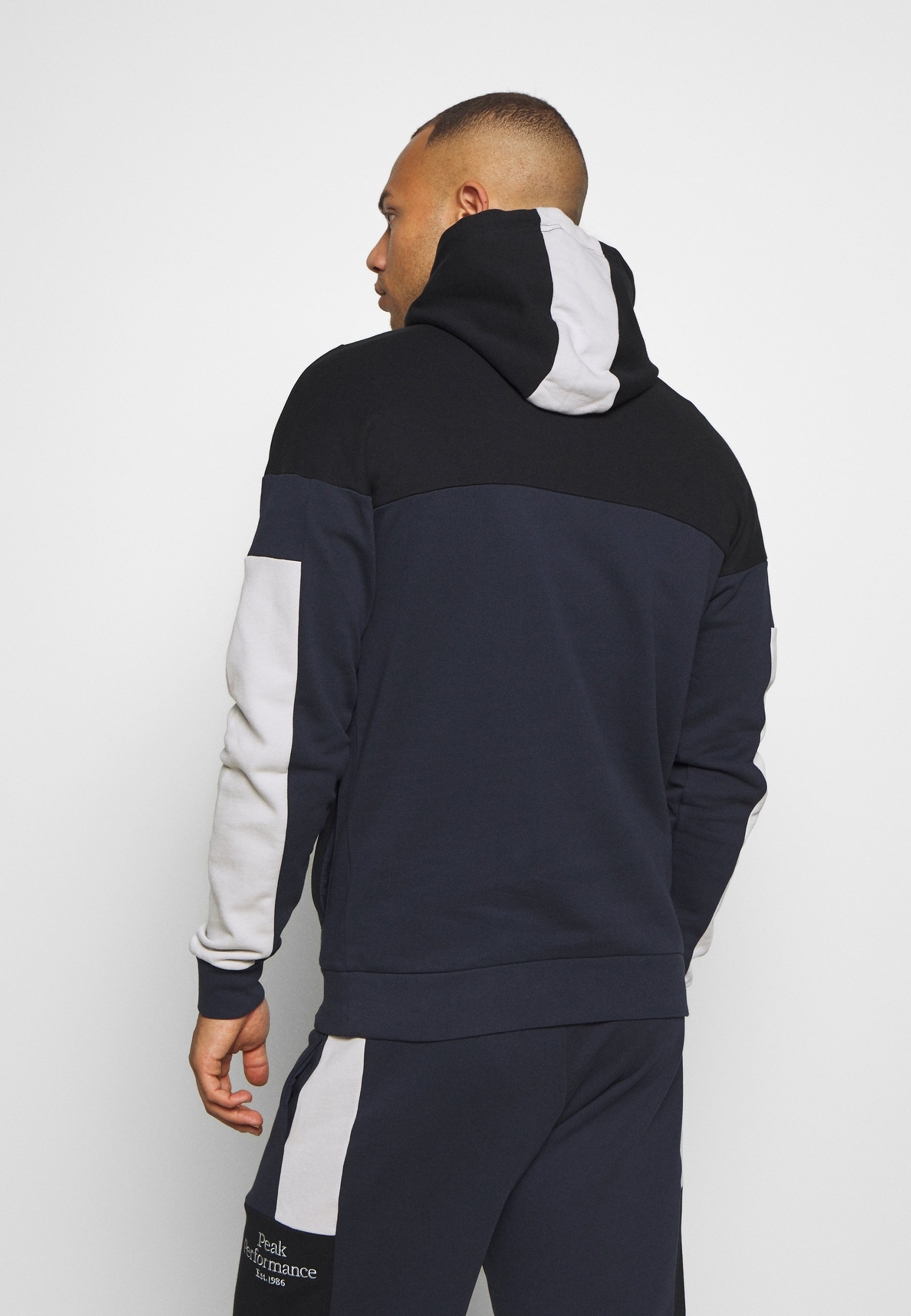 Peak Performance ORIGINAL BLOCKED - Sweat à capuche - blue shadow