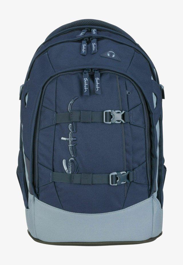 School bag - solid blue