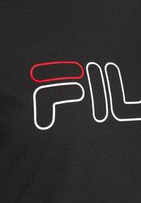 Fila - LADAN TEE - T-shirt z nadrukiem - black - 2