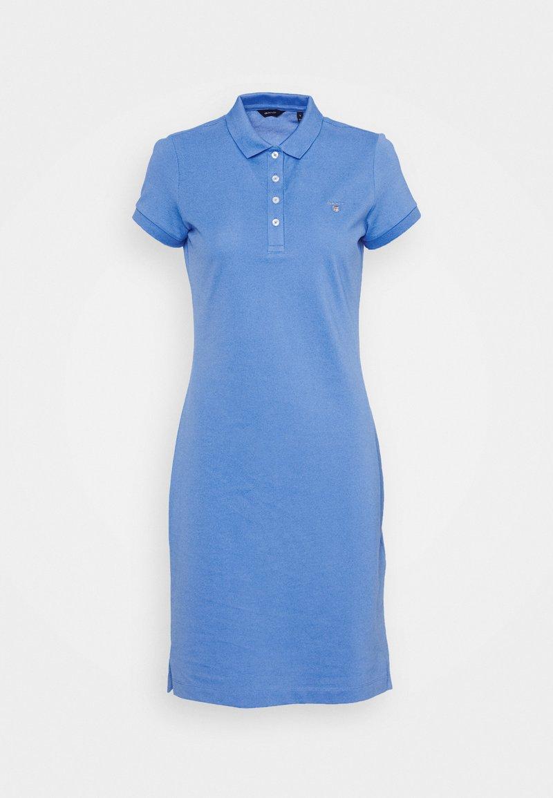 GANT - ORIGINAL DRESS - Shift dress - pacific blue