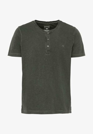 H-HENLEY 1/2 ARM - Basic T-shirt - green
