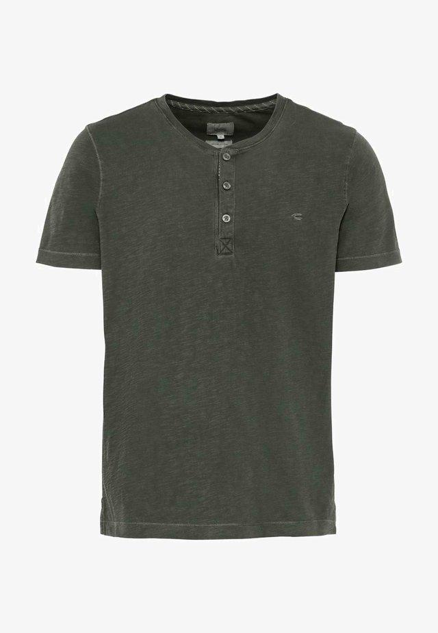 H-HENLEY 1/2 ARM - Basic T-shirt - green