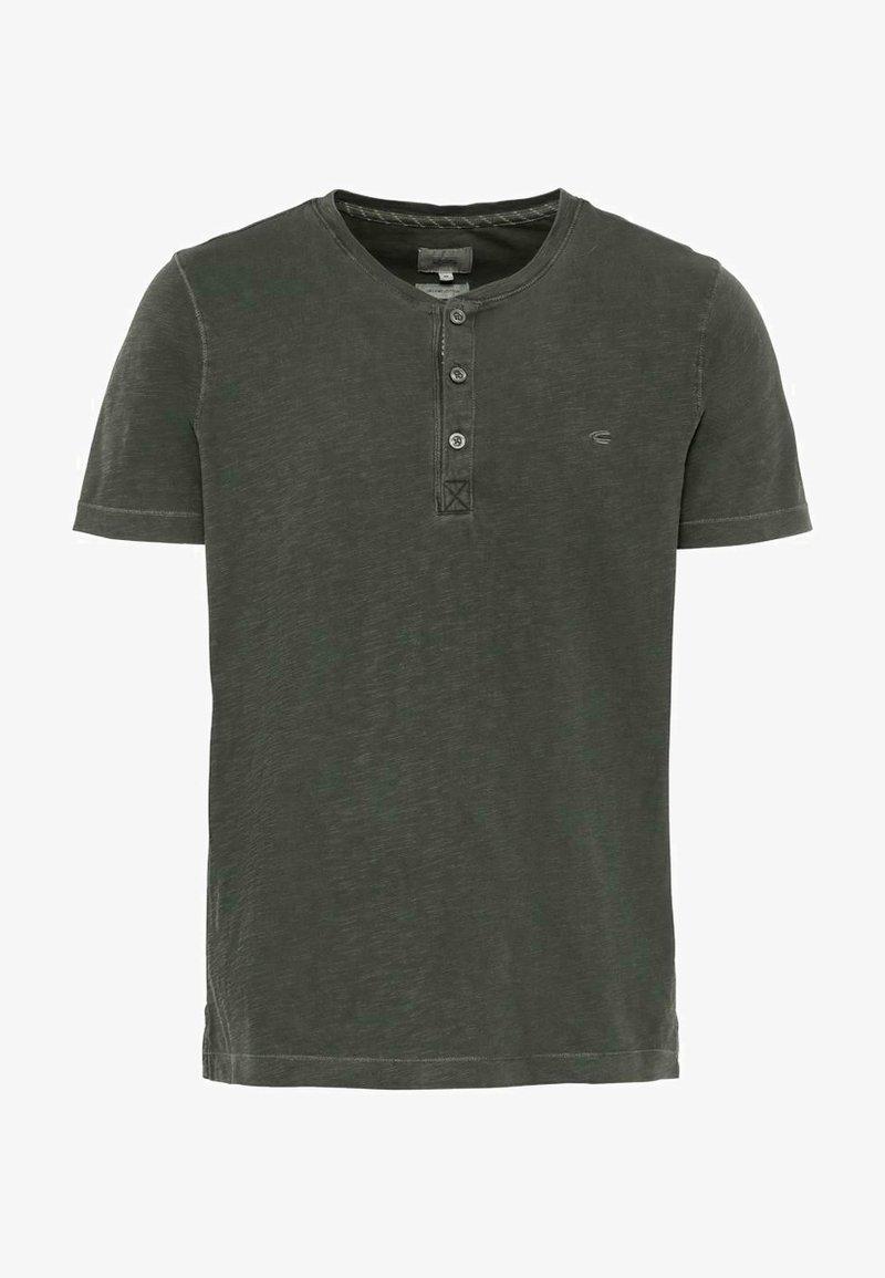 camel active - H-HENLEY 1/2 ARM - Basic T-shirt - green