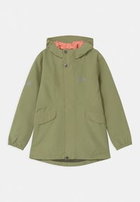Jack Wolfskin - ROCK TOWN JACKET GIRLS - Outdoor jacket - khaki - 0