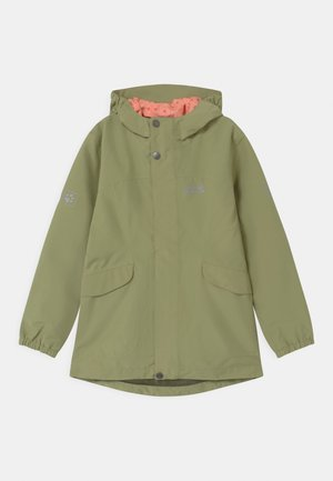 ROCK TOWN JACKET GIRLS - Outdoorová bunda - khaki