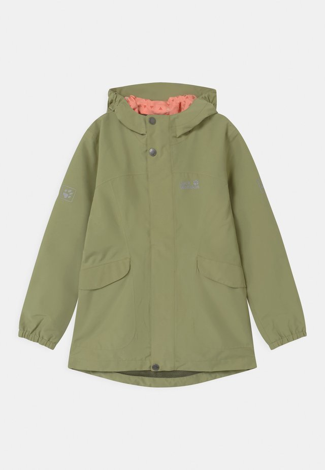 ROCK TOWN JACKET GIRLS - Outdoorjacke - khaki