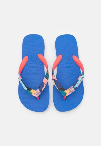 TOP VERANO - Pool shoes - blue star