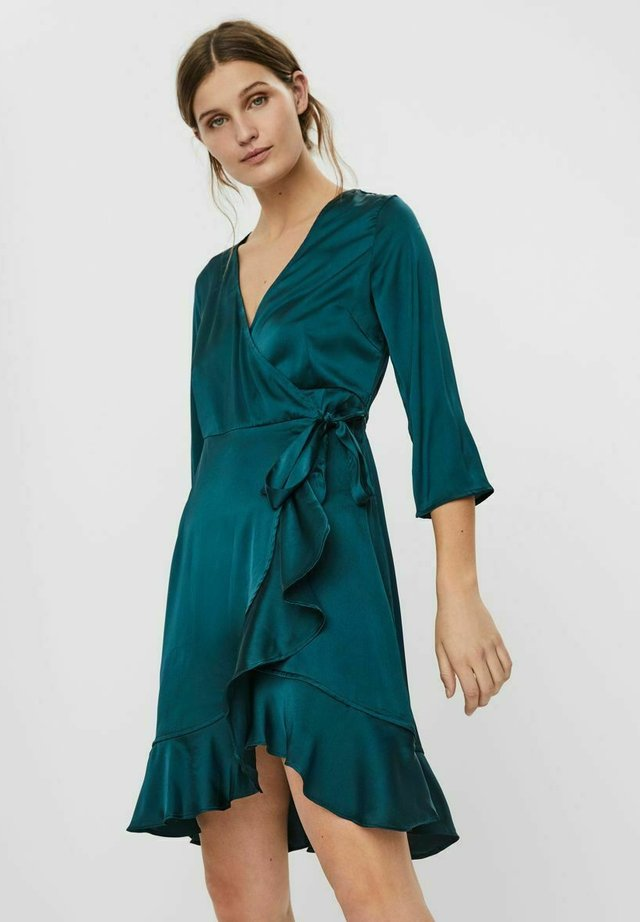 VMHENNA WRAP DRESS - Cocktail dress / Party dress - ponderosa pine