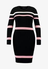 Anna Field Curvy - Shift dress - black - 5
