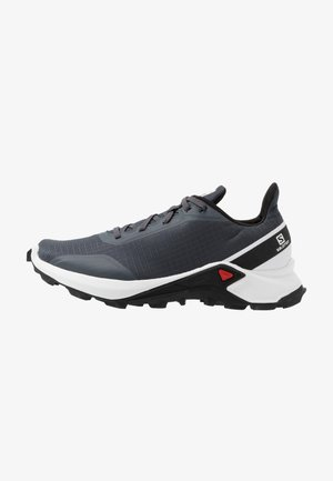 ALPHACROSS - Trail running shoes - india ink/white/black