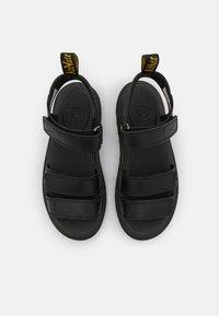 Dr. Martens - KLAIRE - Walking sandals - black - 3