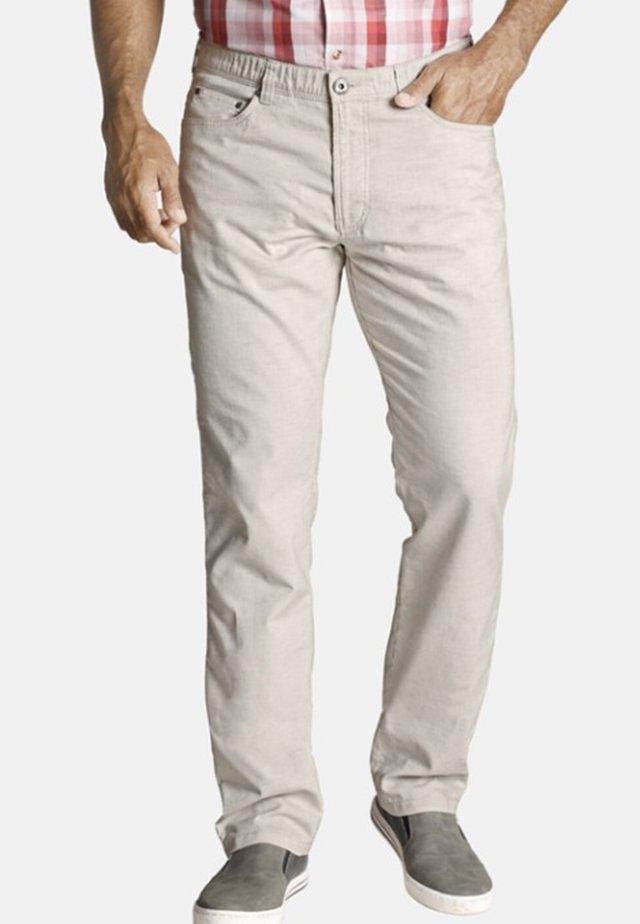 RIKVALD - Trousers - sand