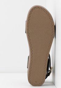 New Look - GENIUS - Sandalias con plataforma - black - 6