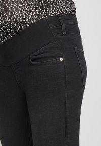 River Island Maternity - AMELIE  - Jeans Skinny Fit - wash black - 4