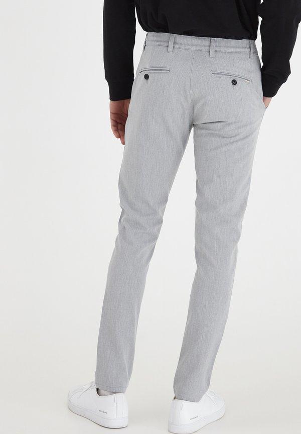 Tailored Originals TOFREDERIC - Chinosy - lig grey m/jasnoszary Odzież Męska PZRZ