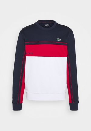 TENNIS - Sweatshirt - navy blue/ruby white