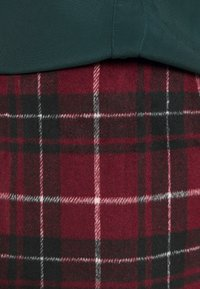 New Look - DUDLEY BRUSHED CHECK MINI - A-line skirt - multi - 6